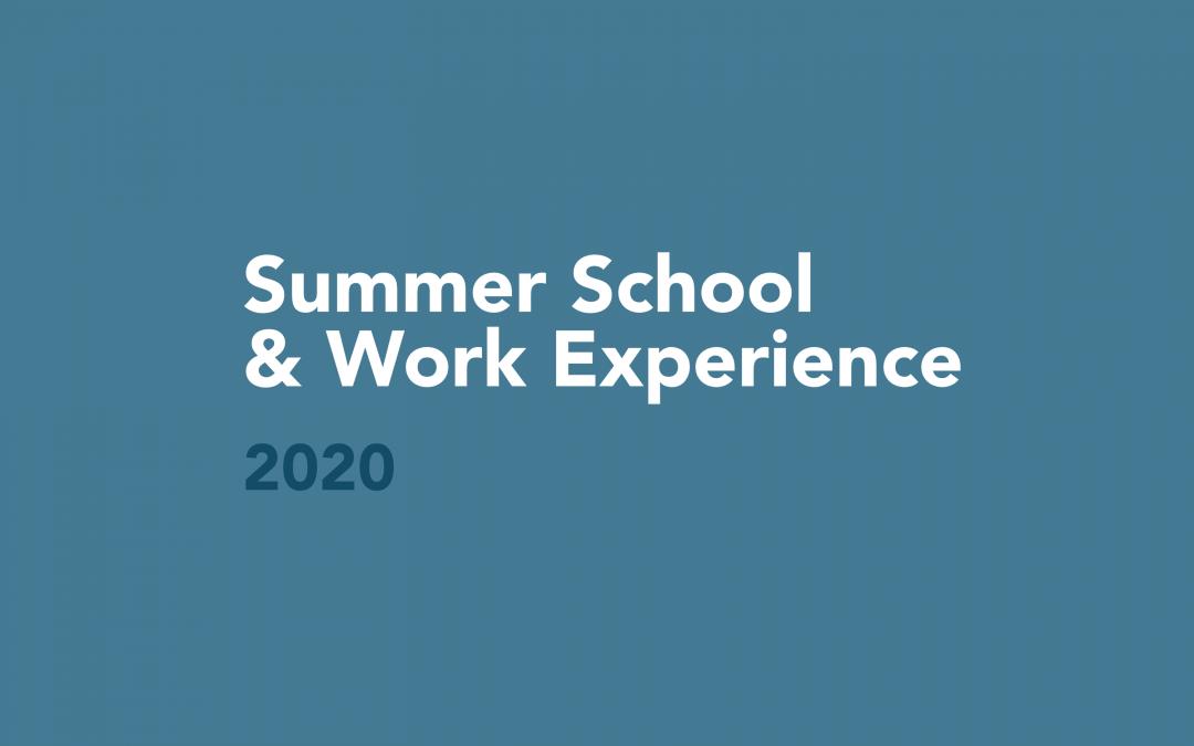 Protetto: DCG Summer School & Work Experience / 2020