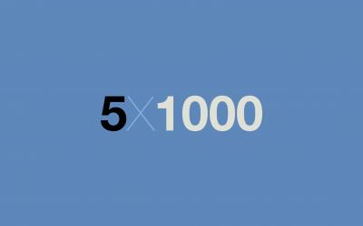 5×1000