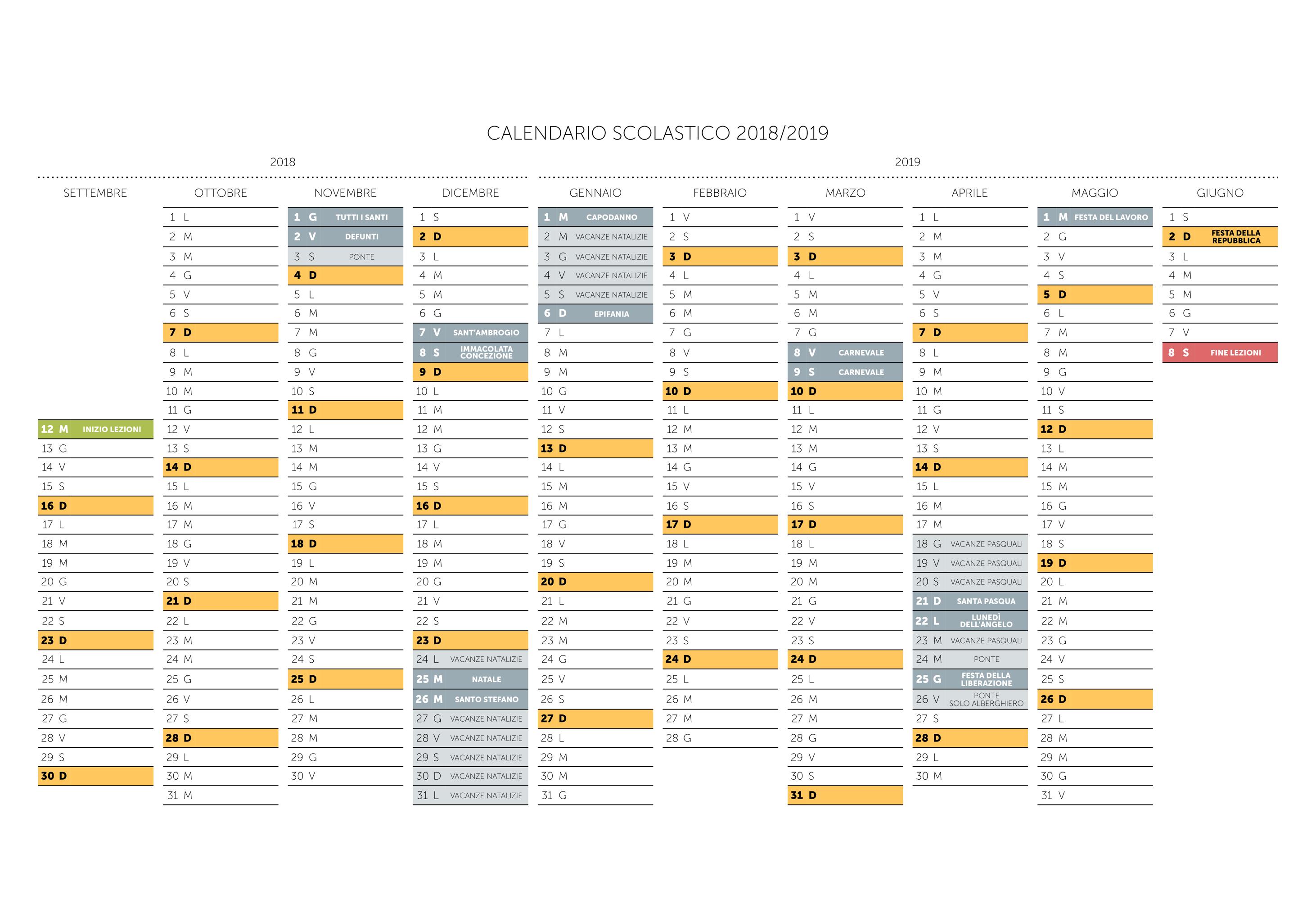 Calendario Scolastico Lombardia 2020 20.Calendario Scolastico Istituto Scolastico Don Carlo Gnocchi