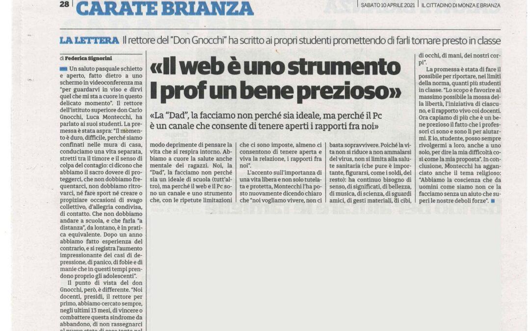 Articolo/ Il web è uno strumento, i prof un bene prezioso