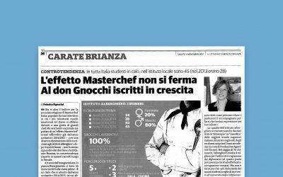 L'effetto Masterchef non si ferma – al Don Gnocchi iscritti in crescita