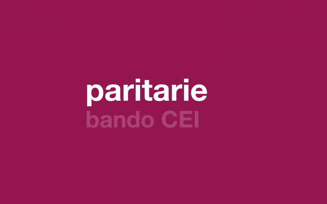 paritarie/ bando di assegnazione borse della CEI