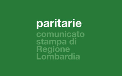 paritarie/ comunicato stampa Regione Lombardia